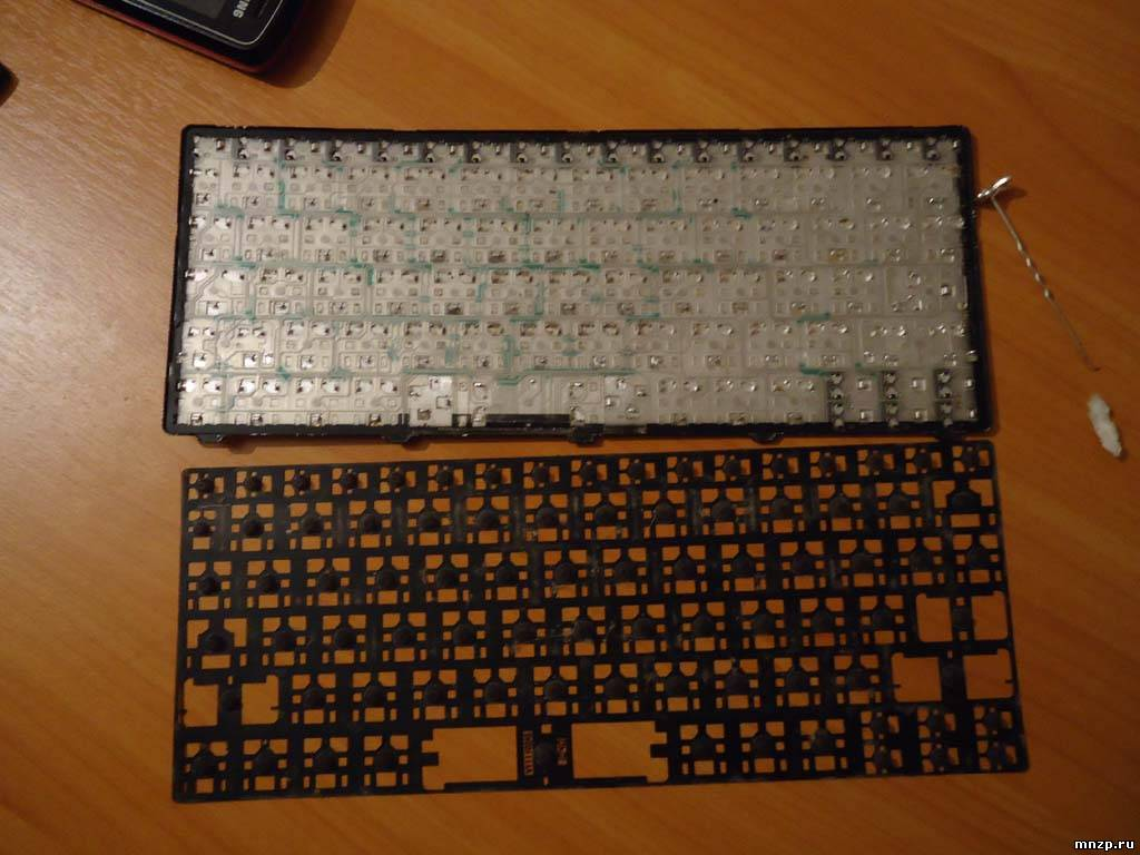 Замена клавиатуры acer своими руками